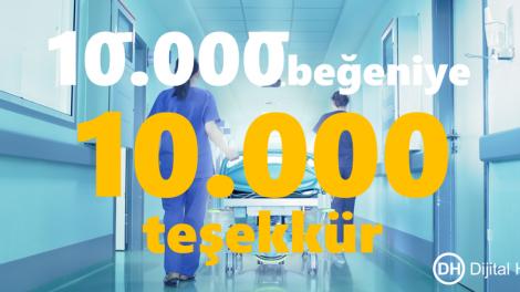 10 bin begeni 10 bin tesekkur