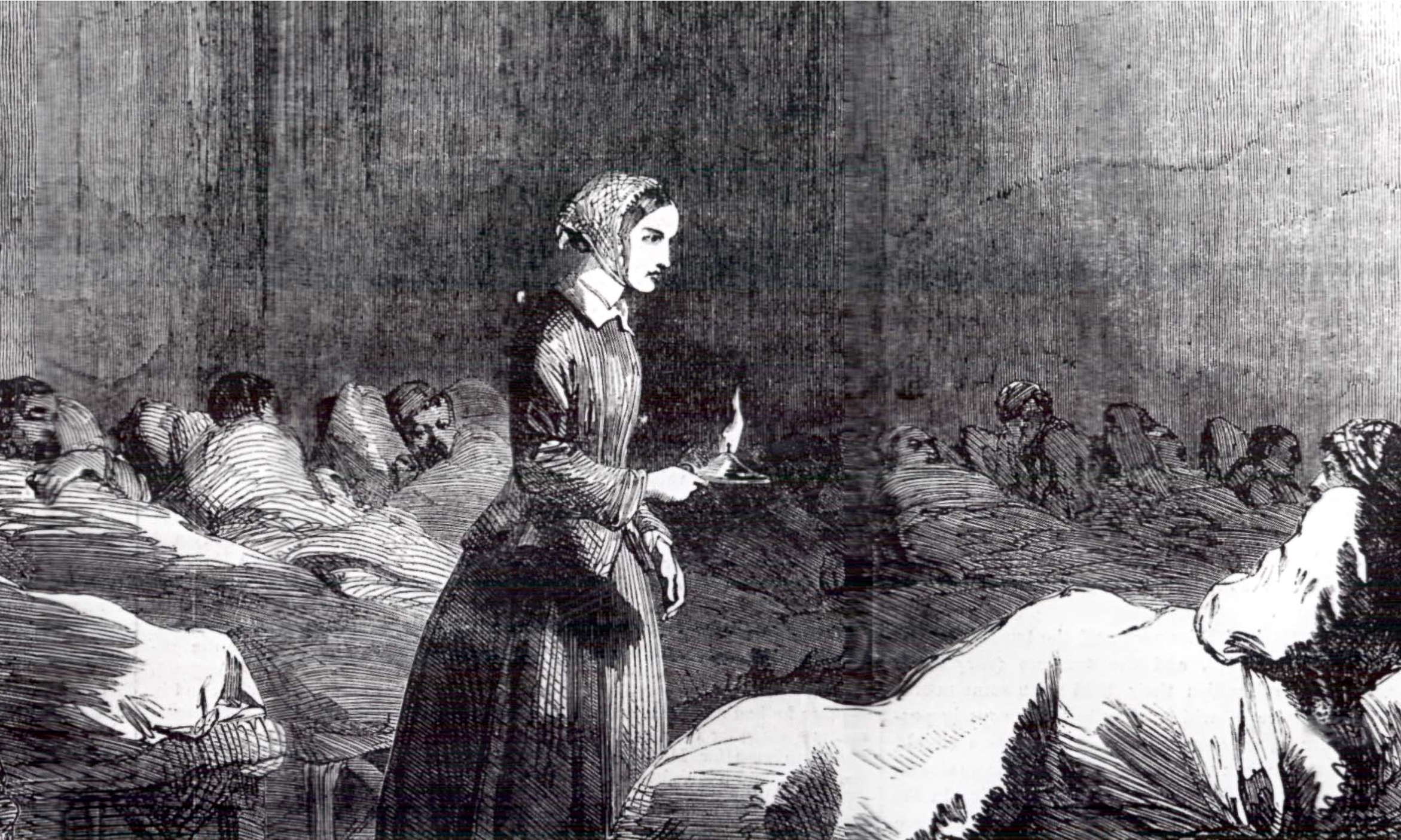 'Florence Nightingale has her equivalent of New Labour's rapid rebuttal unit.'