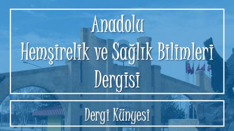 dijital hemsire Anadolu Hemsirelik ve Saglik Bilimleri Dergisi