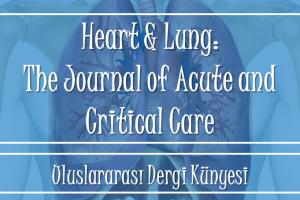 dijital hemsire uluslararasi akademik hemsirelik dergileri Heart and Lung critical nursing acute care