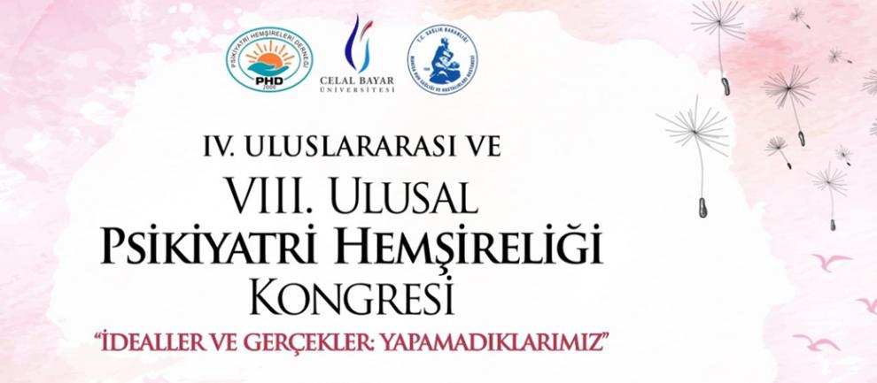 Iv Uluslararası Ve Viii Ulusal Psikiyatri Hemşireliği Kongresi